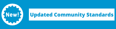 Updated Community Standards Button